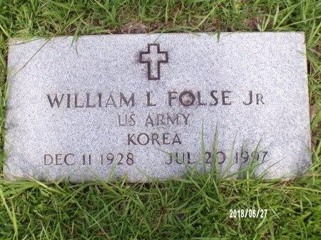 FOLSE, WILLIAM L, JR (VETERAN KOR) - St. Tammany County, Louisiana | WILLIAM L, JR (VETERAN KOR) FOLSE - Louisiana Gravestone Photos