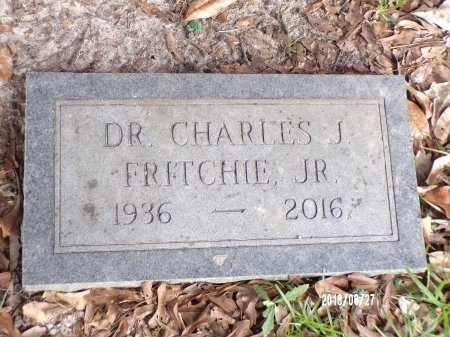 FRITCHIE, CHARLES JULIUS, DR - St. Tammany County, Louisiana | CHARLES JULIUS, DR FRITCHIE - Louisiana Gravestone Photos