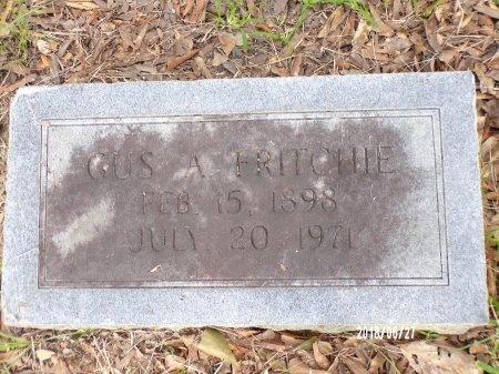 FRITCHIE, GUSTAVE ALEXANDER, SR - St. Tammany County, Louisiana | GUSTAVE ALEXANDER, SR FRITCHIE - Louisiana Gravestone Photos