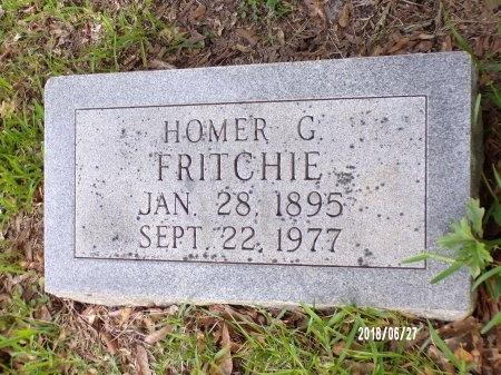 FRITCHIE, HOMER GUS - St. Tammany County, Louisiana | HOMER GUS FRITCHIE - Louisiana Gravestone Photos