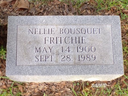 BOUSQUET FRITCHIE, NELLIE EUGENIA - St. Tammany County, Louisiana | NELLIE EUGENIA BOUSQUET FRITCHIE - Louisiana Gravestone Photos