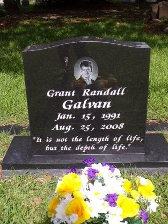 GALVAN, GRANT RANDALL - St. Tammany County, Louisiana | GRANT RANDALL GALVAN - Louisiana Gravestone Photos