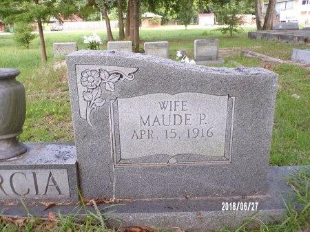 GARCIA, MAUDE (CLOSE UP) - St. Tammany County, Louisiana | MAUDE (CLOSE UP) GARCIA - Louisiana Gravestone Photos