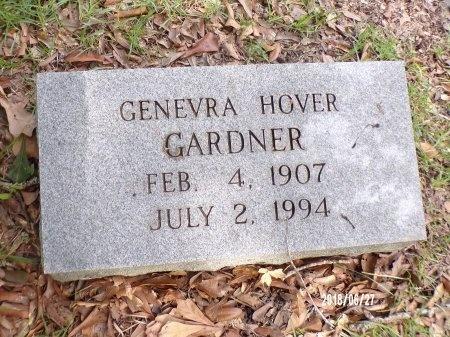 HOVER GARDNER, GENEVRA - St. Tammany County, Louisiana | GENEVRA HOVER GARDNER - Louisiana Gravestone Photos