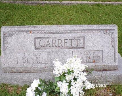 GARRETT, EDNA - St. Tammany County, Louisiana | EDNA GARRETT - Louisiana Gravestone Photos