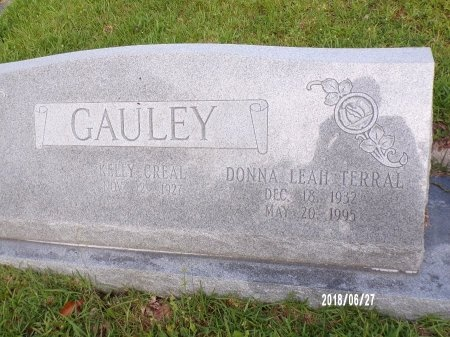 TERRAL GAULEY, DONNA LEAH - St. Tammany County, Louisiana | DONNA LEAH TERRAL GAULEY - Louisiana Gravestone Photos
