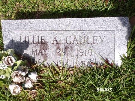 GAULEY, LILLIE A - St. Tammany County, Louisiana | LILLIE A GAULEY - Louisiana Gravestone Photos