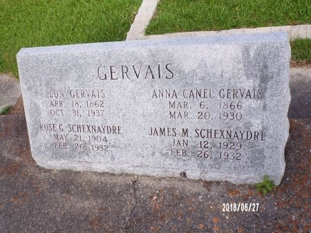 GERVAIS SCHEXNAYDRE, ROSE - St. Tammany County, Louisiana | ROSE GERVAIS SCHEXNAYDRE - Louisiana Gravestone Photos