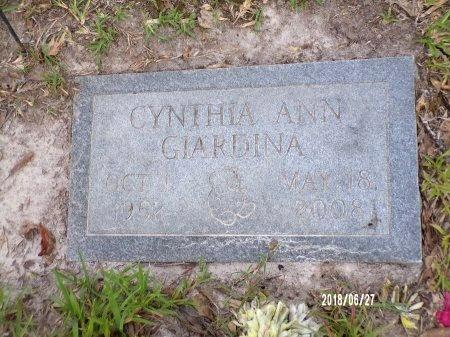 GIARDINA, CYNTHIA ANN - St. Tammany County, Louisiana | CYNTHIA ANN GIARDINA - Louisiana Gravestone Photos