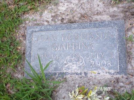 DUBUISSON GIARDINA, JOAN - St. Tammany County, Louisiana | JOAN DUBUISSON GIARDINA - Louisiana Gravestone Photos