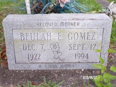 GOMEZ, BEULAH E - St. Tammany County, Louisiana   BEULAH E GOMEZ - Louisiana Gravestone Photos