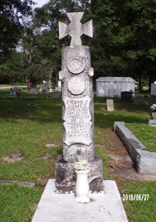 GOMEZ, FRANK J - St. Tammany County, Louisiana | FRANK J GOMEZ - Louisiana Gravestone Photos