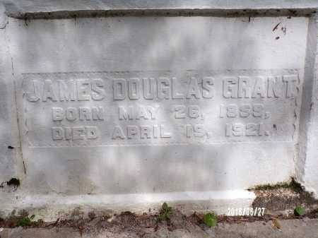 GRANT, JAMES DOUGLAS (CLOSE UP) - St. Tammany County, Louisiana | JAMES DOUGLAS (CLOSE UP) GRANT - Louisiana Gravestone Photos