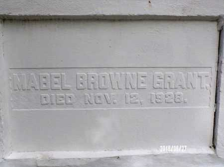 BROWNE GRANT, MABEL (CLOSE UP) - St. Tammany County, Louisiana | MABEL (CLOSE UP) BROWNE GRANT - Louisiana Gravestone Photos