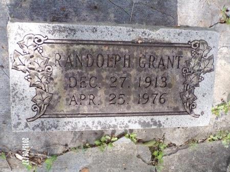 GRANT, RANDOLPH - St. Tammany County, Louisiana | RANDOLPH GRANT - Louisiana Gravestone Photos