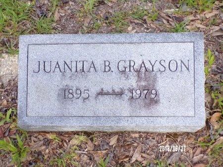 BURROWS GRAYSON, JUANITA - St. Tammany County, Louisiana | JUANITA BURROWS GRAYSON - Louisiana Gravestone Photos