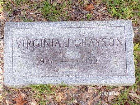 GRAYSON, VIRGINIA J - St. Tammany County, Louisiana | VIRGINIA J GRAYSON - Louisiana Gravestone Photos