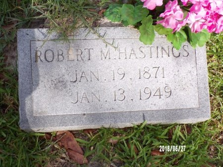 HASTINGS, ROBERT M - St. Tammany County, Louisiana | ROBERT M HASTINGS - Louisiana Gravestone Photos