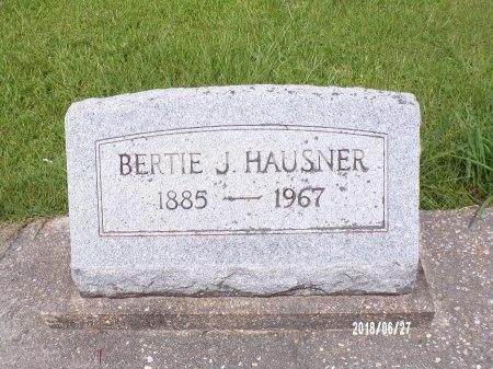 HAUSNER, BERTIE J - St. Tammany County, Louisiana | BERTIE J HAUSNER - Louisiana Gravestone Photos