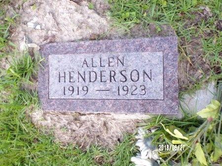HENDERSON, ALLEN - St. Tammany County, Louisiana   ALLEN HENDERSON - Louisiana Gravestone Photos