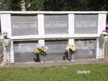 HENDERSON, HENRY J - St. Tammany County, Louisiana | HENRY J HENDERSON - Louisiana Gravestone Photos