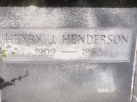 HENDERSON, HENRY J (CLOSE UP) - St. Tammany County, Louisiana | HENRY J (CLOSE UP) HENDERSON - Louisiana Gravestone Photos