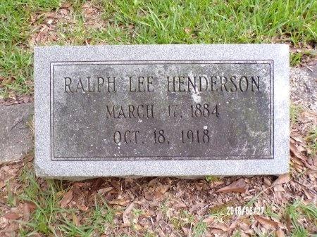 HENDERSON, RALPH LEE - St. Tammany County, Louisiana   RALPH LEE HENDERSON - Louisiana Gravestone Photos