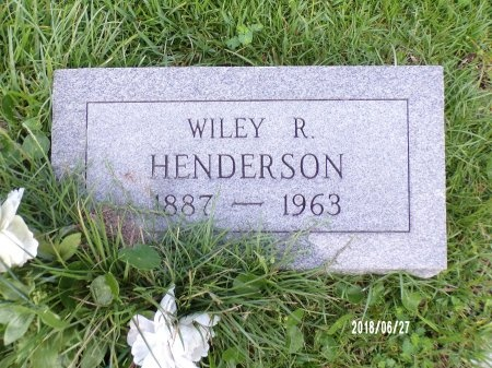 HENDERSON, WILEY R - St. Tammany County, Louisiana | WILEY R HENDERSON - Louisiana Gravestone Photos