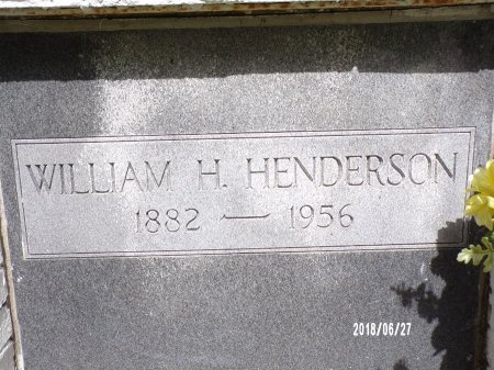 HENDERSON, WILLIAM H (CLOSE UP) - St. Tammany County, Louisiana | WILLIAM H (CLOSE UP) HENDERSON - Louisiana Gravestone Photos