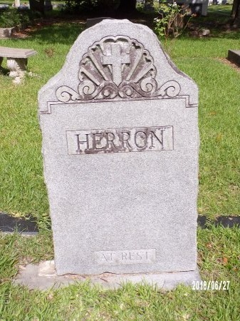 HERRON, MEMORIAL - St. Tammany County, Louisiana | MEMORIAL HERRON - Louisiana Gravestone Photos