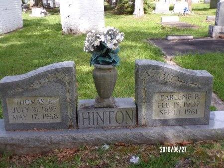 HINTON, EARLENE - St. Tammany County, Louisiana | EARLENE HINTON - Louisiana Gravestone Photos