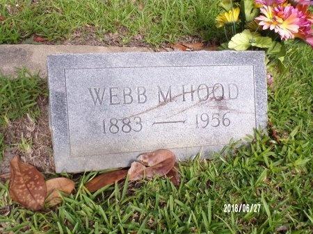 HOOD, WEBB M - St. Tammany County, Louisiana | WEBB M HOOD - Louisiana Gravestone Photos
