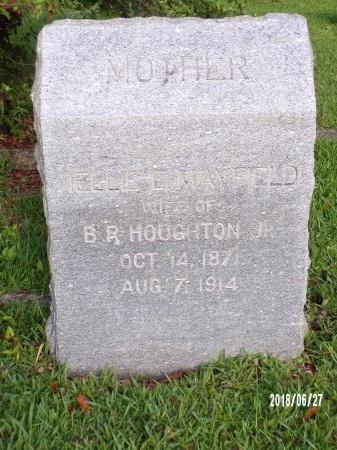 HOUGHTON, NELLIE E - St. Tammany County, Louisiana   NELLIE E HOUGHTON - Louisiana Gravestone Photos