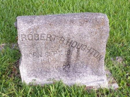 HOUGHTON, ROBERT B - St. Tammany County, Louisiana | ROBERT B HOUGHTON - Louisiana Gravestone Photos