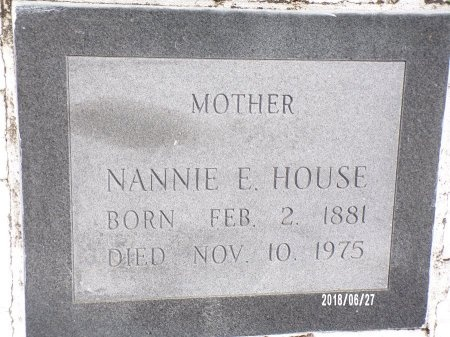 HOUSE, NANNIE - St. Tammany County, Louisiana | NANNIE HOUSE - Louisiana Gravestone Photos