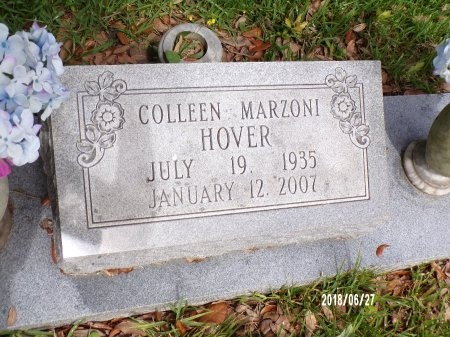 MARZONI HOVER, COLLEEN (CLOSE UP) - St. Tammany County, Louisiana | COLLEEN (CLOSE UP) MARZONI HOVER - Louisiana Gravestone Photos