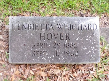 WHICHARD HOVER, HENRIETTA - St. Tammany County, Louisiana | HENRIETTA WHICHARD HOVER - Louisiana Gravestone Photos