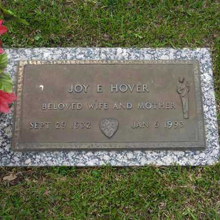 HOVER, JOY E - St. Tammany County, Louisiana | JOY E HOVER - Louisiana Gravestone Photos
