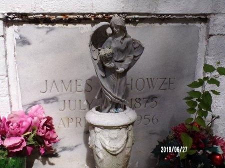 HOWZE, JAMES B (CLOSE UP) - St. Tammany County, Louisiana | JAMES B (CLOSE UP) HOWZE - Louisiana Gravestone Photos