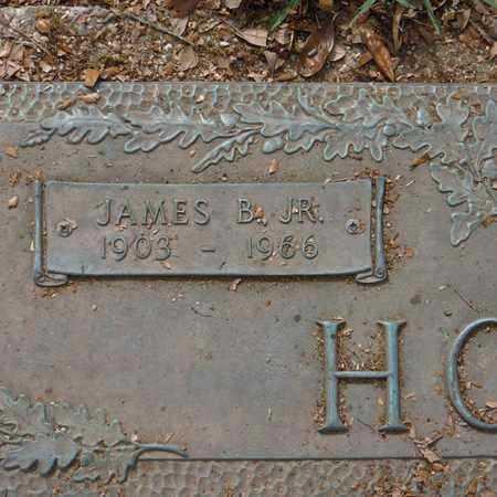 HOWZE, JAMES B, JR (CLOSE-UP) - St. Tammany County, Louisiana | JAMES B, JR (CLOSE-UP) HOWZE - Louisiana Gravestone Photos