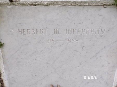 INNERARITY, HERBERT M - St. Tammany County, Louisiana   HERBERT M INNERARITY - Louisiana Gravestone Photos