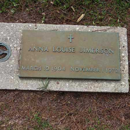 JIMERSON, ANNA LOUISE - St. Tammany County, Louisiana | ANNA LOUISE JIMERSON - Louisiana Gravestone Photos