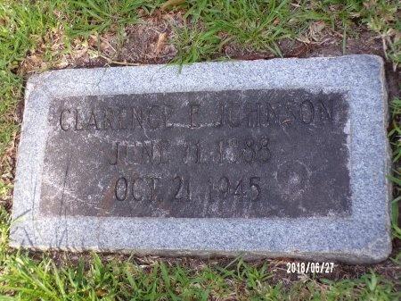 JOHNSON, CLARENCE E - St. Tammany County, Louisiana | CLARENCE E JOHNSON - Louisiana Gravestone Photos