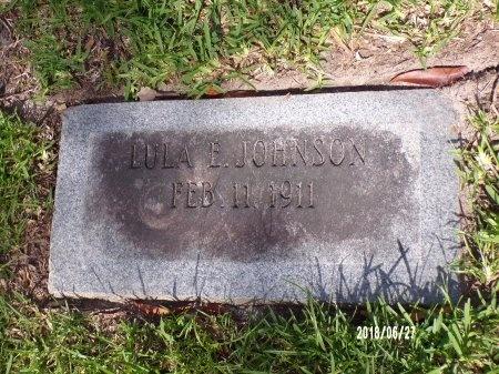 JOHNSON, LULA E - St. Tammany County, Louisiana | LULA E JOHNSON - Louisiana Gravestone Photos
