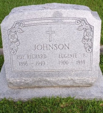 JOHNSON, EUGENIE F - St. Tammany County, Louisiana | EUGENIE F JOHNSON - Louisiana Gravestone Photos