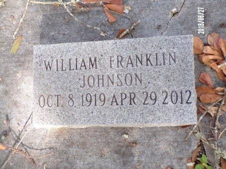 JOHNSON, WILLIAM FRANKLIN - St. Tammany County, Louisiana | WILLIAM FRANKLIN JOHNSON - Louisiana Gravestone Photos