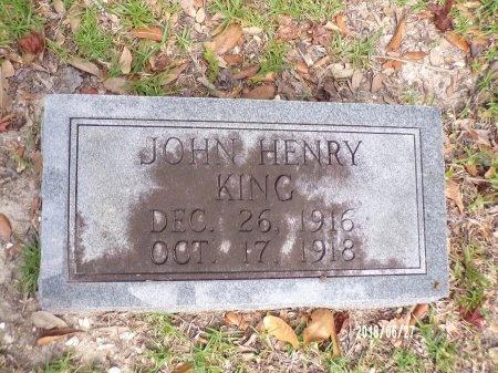 KING, JOHN HENRY - St. Tammany County, Louisiana | JOHN HENRY KING - Louisiana Gravestone Photos