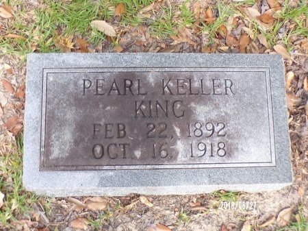 KELLER KING, PEARL - St. Tammany County, Louisiana | PEARL KELLER KING - Louisiana Gravestone Photos
