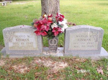 KINMAN, MARION V - St. Tammany County, Louisiana   MARION V KINMAN - Louisiana Gravestone Photos