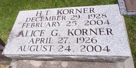 KORNER, HENRY T - St. Tammany County, Louisiana | HENRY T KORNER - Louisiana Gravestone Photos